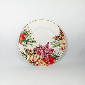 Prato Porcelana - Floral - 26cm