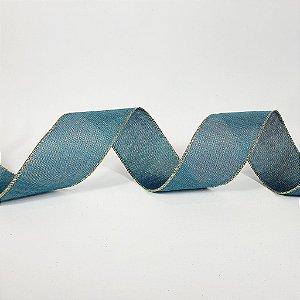 Rolo de Fita Aramada - Azul - 6,3cm x 9m