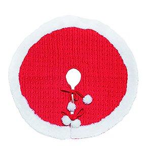 Saia de Pinheiro Pompom - Vermelha