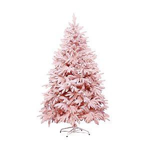 Árvore de Natal Nevada - Andes Rosa - 2,10m