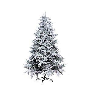 Árvore de Natal Nevada - Andes Branca - 2,10m.
