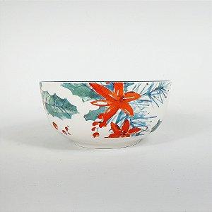 Bowl de Cerâmica - Floral - 13,5cm