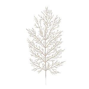 Galho Folhas - Nude/Glitter
