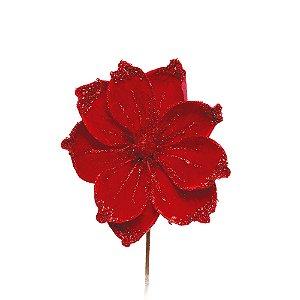 Magnólia Vermelha - Glitter