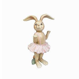 Coelha de Resina - Bailarina