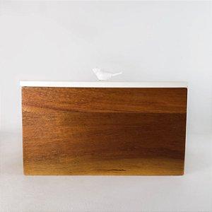 Porta-jóias - Passarinho Branco - 20cm
