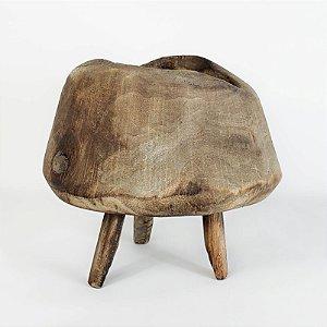Cachepot de Madeira Pé de Palito - 17cm