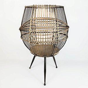 Vaso Lanterna / Cesto Decorativo - 51cm