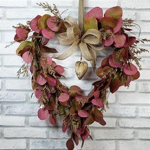 Guirlanda de galhos -  Amores de Outono - 35cm