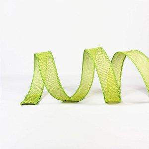 Fita Aramada Tecido Verde - 9mx4cm