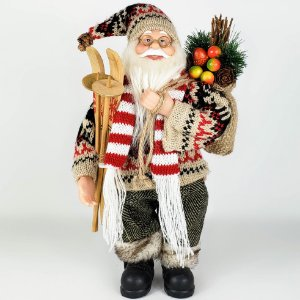 Papai Noel Peruano em Pé - 30cm
