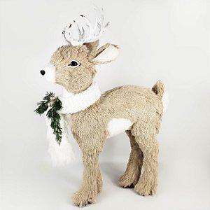 Rena de Natal em Pé - 52cm