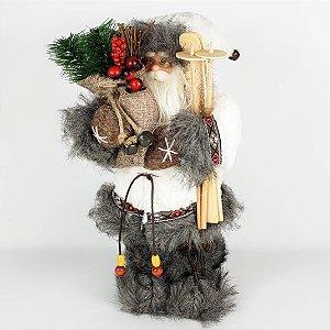 Papai Noel Laminador em Pé - 32cm