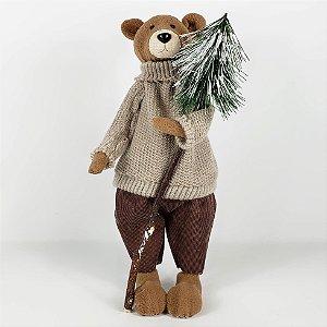 Urso Fancy em Pé - 36cm