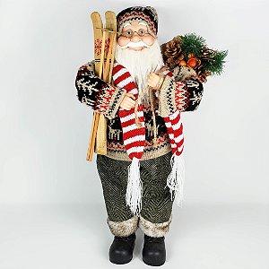 Papai Noel Peruano em Pé - 45cm