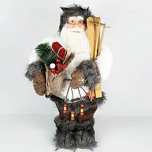 Papai Noel Laminador em Pé - 45cm