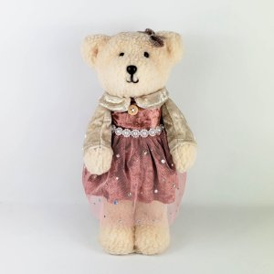 Ursa Patchy Rose - 25cm