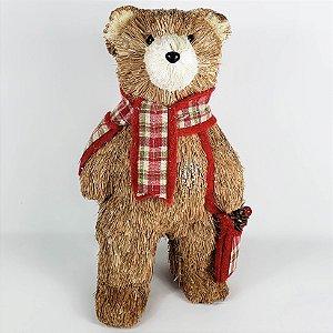 Urso Natalino em Pé - 32cm