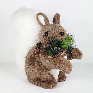 Esquilo Marrom - 24cm