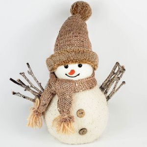 Boneco de Neve c/ Glitter - 27cm