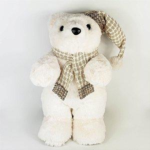 Urso em Pé Snow - 29cm