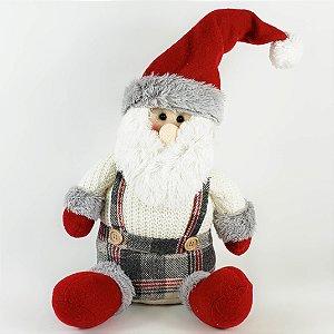 Papai Noel de Pelúcia - 35cm