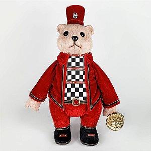 Urso c/ Corneta Christmas Parade - 30cm