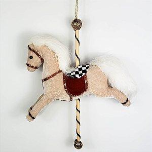 Cavalo c/ Cela Christmas Parade - 30cm