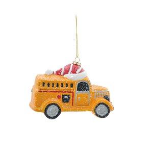 Ônibus Decorativo p/ Pendurar - 12cm