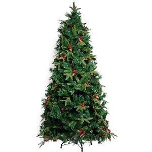 Árvore de Natal Pinha e Berry - 2,40m