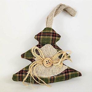 Pinheiro de Natal p/ Pendurar - 10cmx11cm