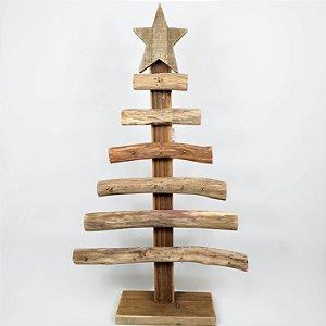 Pinheiro de Troncos - 62cm