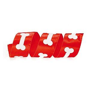 Fita Aramada Vermelha Ossos - 9m