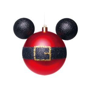 Bola de Natal Disney 2 Unid. - 10cm