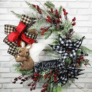 Guirlanda Merry Christmas Classic - 45cm
