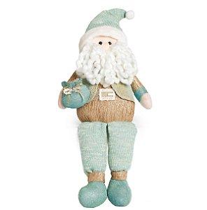 Papai Noel Neo Mint - 50cm