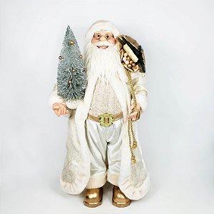 Papai Noel Com Traje Champanhe - 60cm