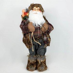 Papai Noel Rústico - 45cm