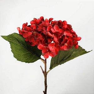 Hortênsia Vermelha - 54cm