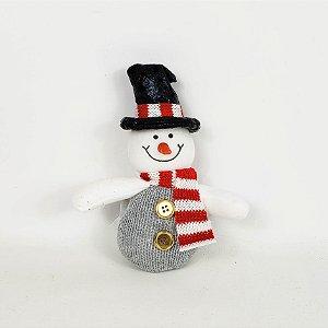 Boneco de Neve Para Pendurar - 12cm