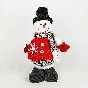 Boneco de Neve Em Pé - 28cm