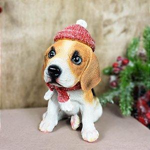 Beagle Filhote de Resina - 20cmx12cm