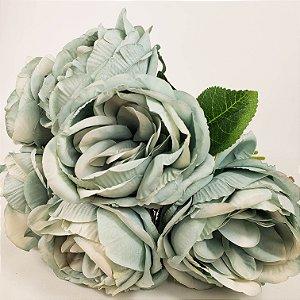 Buque 6 Rosas - Azul