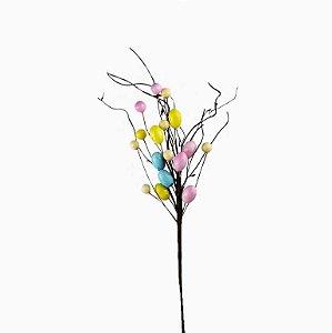 Ramo de Páscoa - Ovos Coloridos