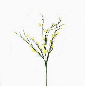 Ramo de Páscoa -Branco/Amarelo