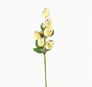 Ramo de Páscoa - Ovos Amarelo