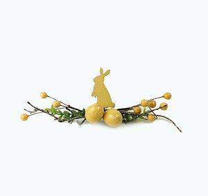 Festão - Coelho Amarelo