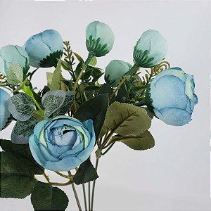 Buquê de Camelia - Azul