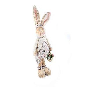 Coelha de Pelúcia - Bege