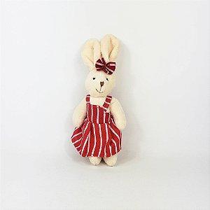 Coelha de Pelúcia - Vermelho